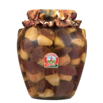 Whole porcini mushrooms kg. 3 orcio jar