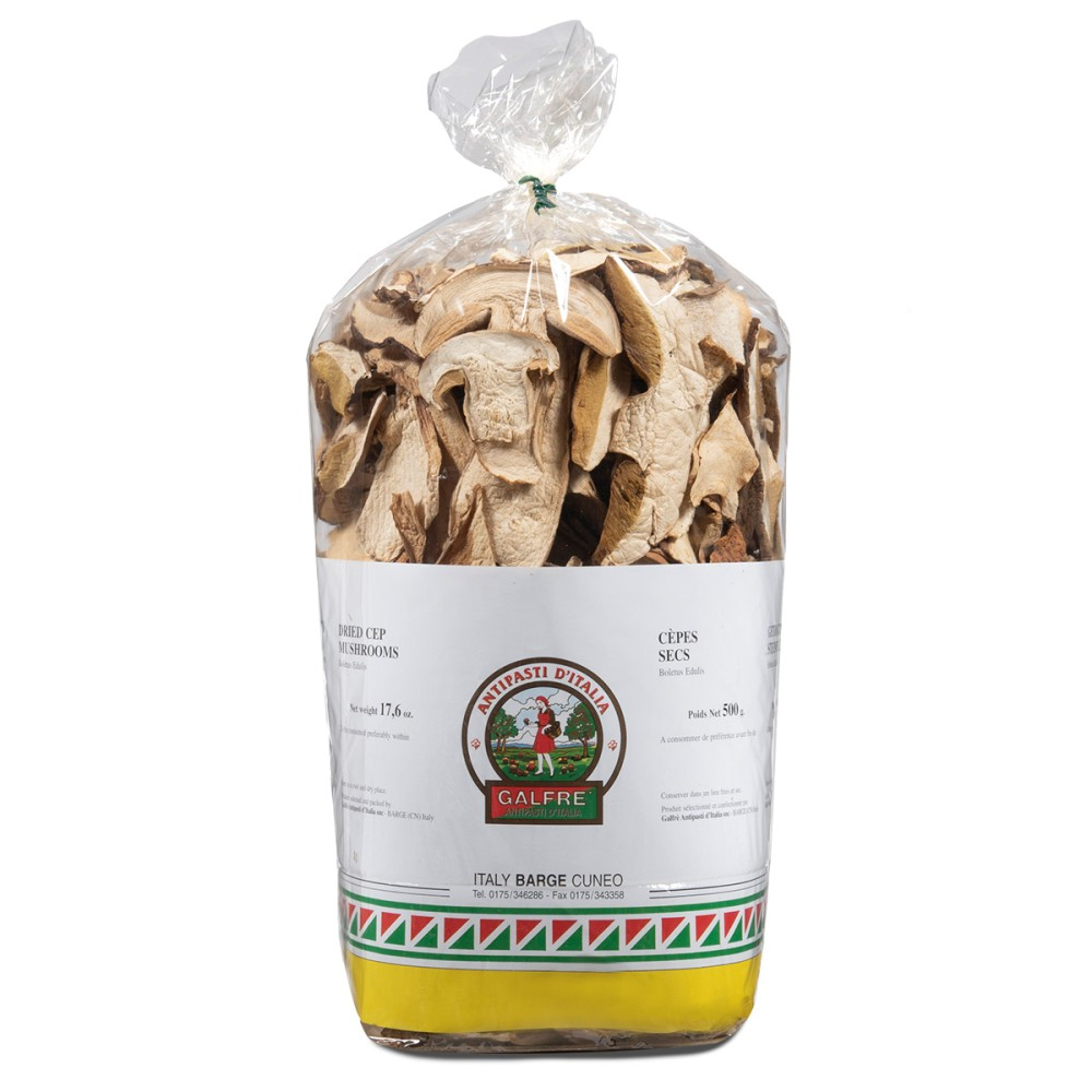 "Dried porcini mushrooms g. 500 packet ""commerciale"""