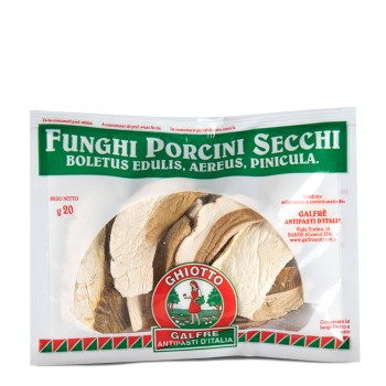 "Dried porcini mushrooms ""speciale"" sachet g. 20"