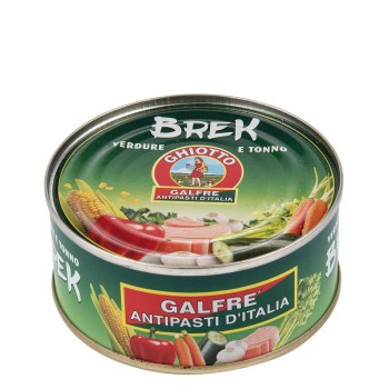 Brek, mixed vegetables with tuna fish g. 160